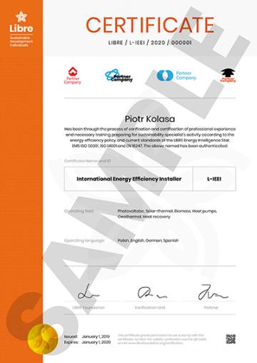 International Energy Efficiency Installer